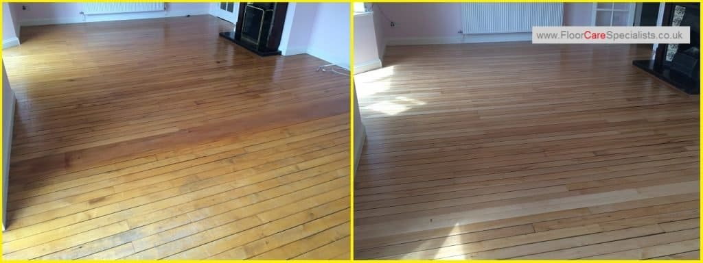 Maple Wood Floor Sanding and Sealing in Ashbourne Derbyshire - www.FloorCareSpecialists.co.uk