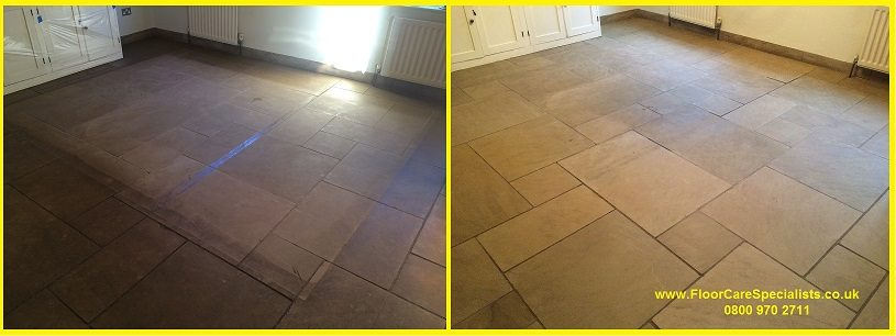 Limestone Floor Cleaners in Daventry (www.FloorCareSpecialists.co.uk)