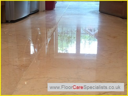 Marble Floor Cleaning - www.FloorCareSpecialists.co.uk