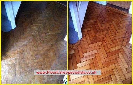 Wood Floor Sanding in Market Harborough, Leicestershire - www.FloorCareSpecialists.co.uk